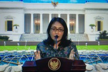 Minister of Women's Empowerment and Child Protection Bintang Puspayoga. Photo by: PR of Cabinet Secretariat