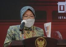 Minister of Social Affairs Tri Rismaharini (Photo by: PR of Cabinet Secretariat)