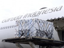 Another batch of Sinopharm COVID-19 vaccine arrives at Soekarno-Hatta International Airport on Tuesday (13/07). Photo by: BPMI of Presidential Secretariat/Kris