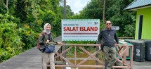 Salat Island is become a conservation area for Orangutan by the management of PT Sawit Sumbermas Sarana Tbk (SSMS). (Foto: Public Relations of PT Sawit Sumbermas Sarana Tbk)