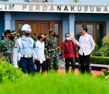 President Jokowi is on his way to Papua province for a working visit, Thursday (01/10). (Photo by: BPMI/Laily)