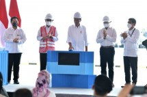President Jokowi officially inaugurates Wae Kelambu Multipurpose Terminal, West Manggarai regency, Thursday (14/10).