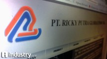 PT Ricky Putra Globalindo Tbk (Hariyanto / INDUSTRY.co.id)