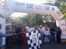 Dalam rangka memeriahkan HUT ke 44 PT Jakarta Industrial Estate Pulogadung (JIEP) menggelar Family Gathering dengan kegiatan Fun Walk dan Fun Bike.
