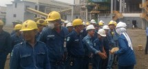 PT Krakatau Cement Indonesia in Cilegon (Foto Anto)