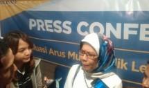 President Director of PT Jasa Marga Desi Arryani. (Irvan AF / INDUSTRY)