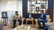 Meet Minister Airlangga, CEO of LG International Discusses Petrochemical Gas Plant Utilization (Foto Ridwan)