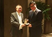 Menperin Airlangga Received 56th LKY Fellow Award (Photo Humas)